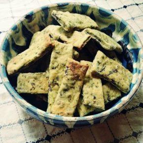 Biscuiți cu legume (după 3 ani)