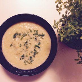 Supă cremă de varză