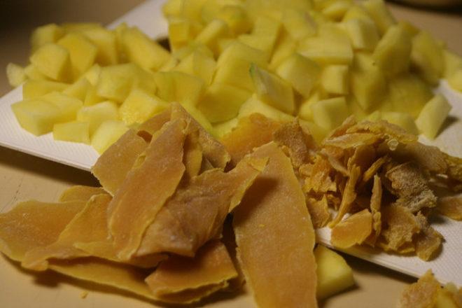 Cum să faci mango uscat fără deshidrator