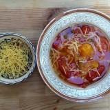 Supă de roșii cu tăieței (după 10 luni)