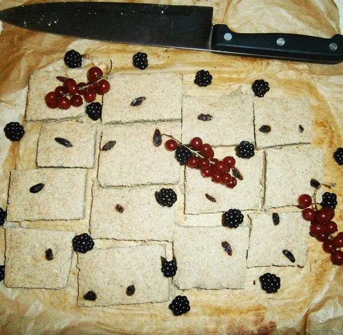 Biscuiți cu lime și goji
