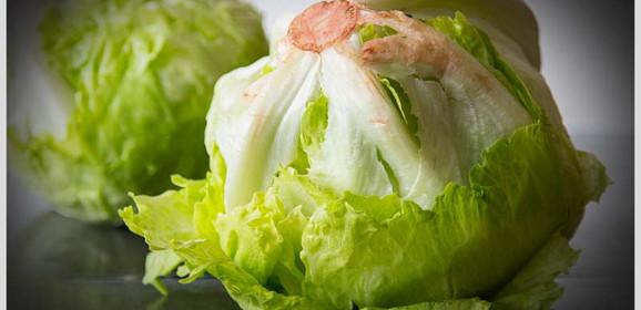 Salată Iceberg, o porție de hidratare
