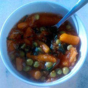 Mazăre cu baby morcov (de la 8 luni)