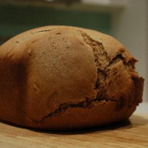 Pâine de secară cu maia (de la 8 luni)