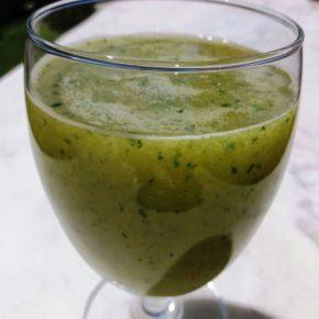 Smoothie cu varză Kale (de la 1 an)