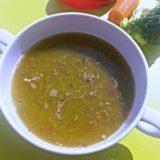 Supă cremă de mazăre (de la 10 luni)