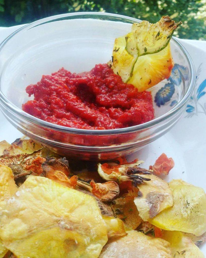 Chipsuri de legume aromate