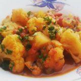 Mâncare de conopidă şi ardei copt (de la 1 an)