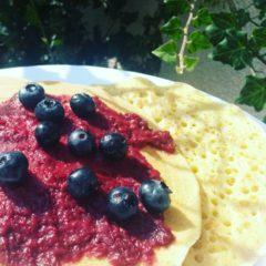 Pancakes cu maia (de la 1 an)