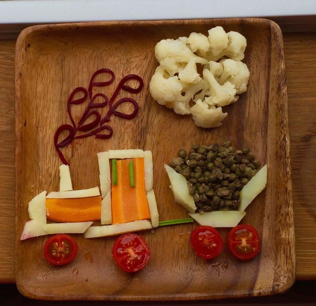 Trenuleț de legume