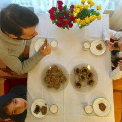 Biscuiți sănătoși cu semințe și fructe (de la 1 an)
