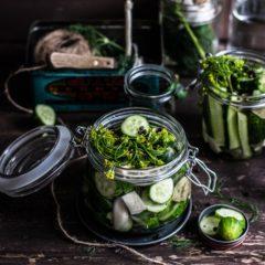 Conserve de legume și fructe rezistente pe durata iernii