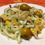 Salată de varză cu dressing de muștar