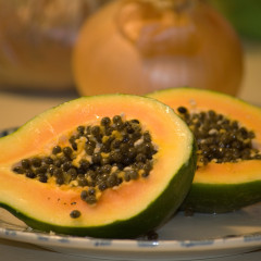 Papaya – un alt fruct exotic bun pentru princhindei